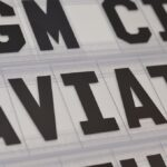 small cinema style letters for notice boards or letterboards
