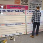 bespoke changeable fixture boards to promote fixtures and events