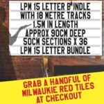 letterboard Sign kits with letters   2 set of LPM 15 with 18 Metres of tracking. Our pre-packed bundles make buying letters and tracks even simpler.