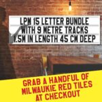 Letterboard Sign kits with letters   1 set of LPM 22 with 6 Metres of tracking. Our pre-packed bundles make buying letters and tracks even simpler.