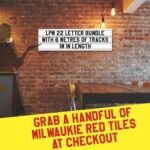 Letterboard Sign kits with letters | 1 set of LPM 22 with 6 Metres of tracking