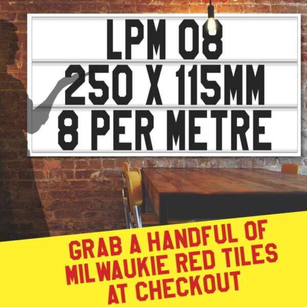 letterboard Sign kits with letters   1 set of LPM 08 with 9 Metres of tracking. Our pre-packed bundles make buying letters and tracks even simpler.