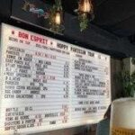 Menu Board Ideas For Beers and wines using changeable Letters